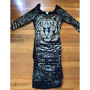 Cache dress Tiger Face Size M